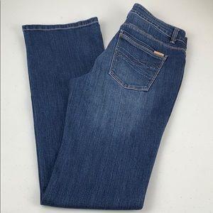 WHBM Boot Leg Jeans Size 6